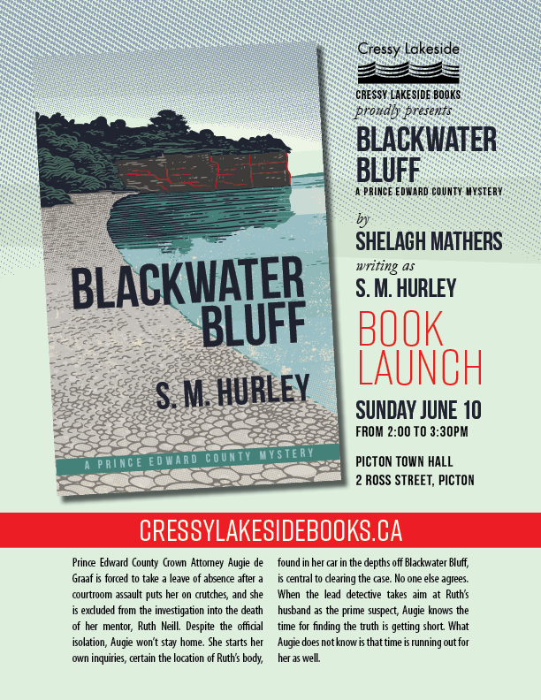 Blackwater Bluff Launch Poster
